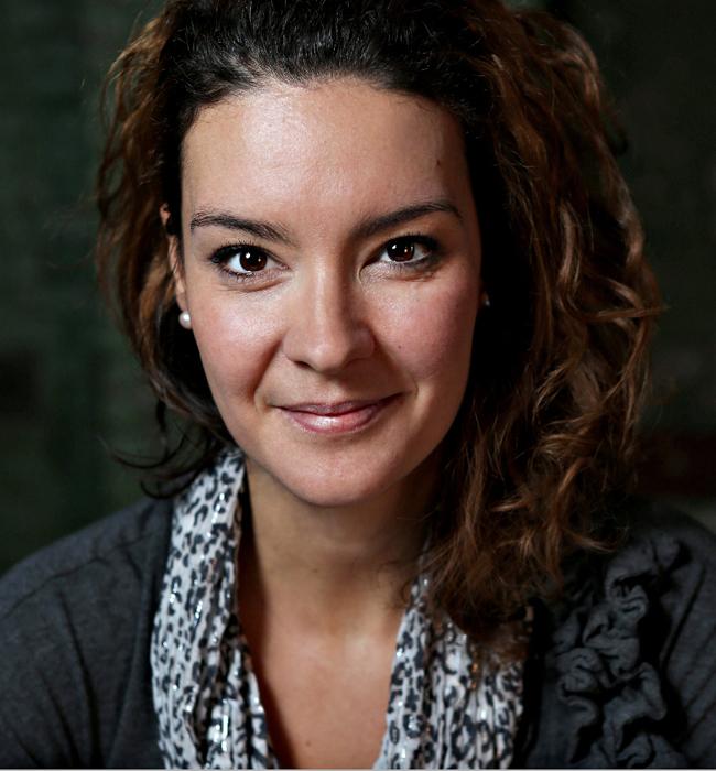 Anne Gauthier par Hugo-Sébastien Aubert, La Presse