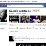 François Bellefeuille, Humoriste :: Photo Profil Facebook