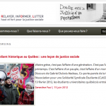 REPORT OUT LOUD :: Article sur le printemps érable 2012 avec photos de Anne Gauthier