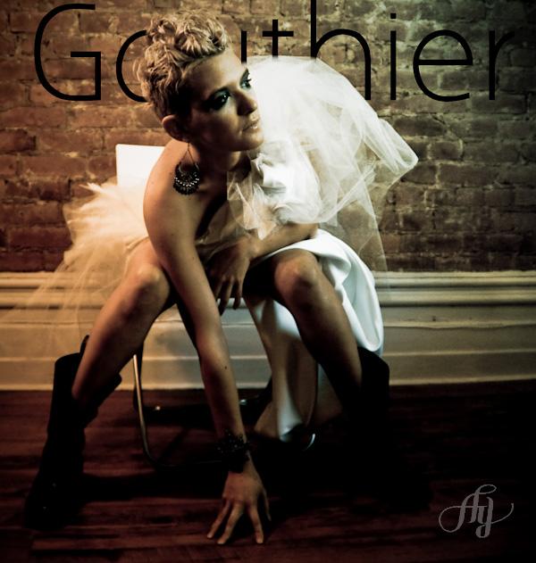 La robe Gauthier, par Anne Gauthier. Photo : Anne Gauthier, Modèle : Maïa Wallis