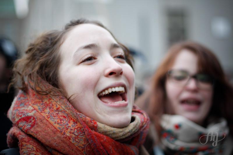 Manifestation :: Contre la hausse des frais de scolarité