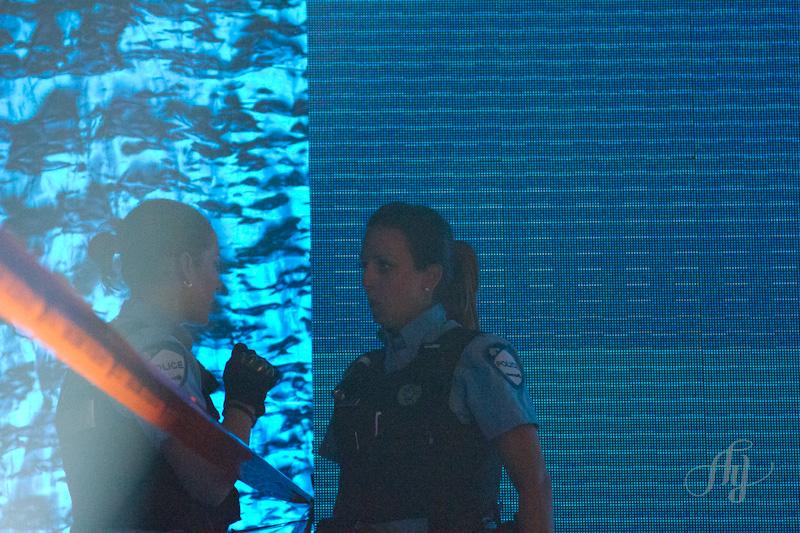 Attentat au Métropolis :: Les policiers étaient sur les lieux