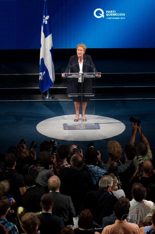 Pauline Marois :: Première ministre du Québec