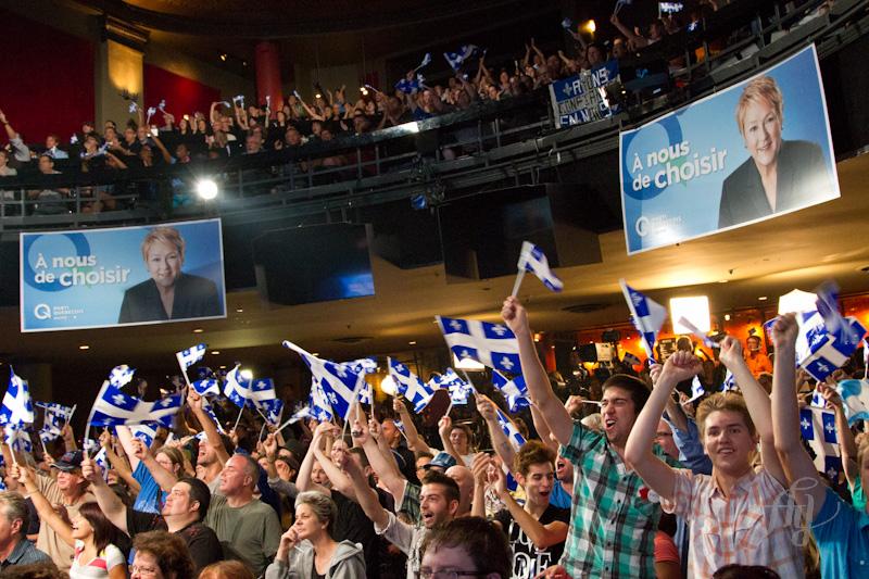Métropolis :: Soirée des élections du Parti Québécois