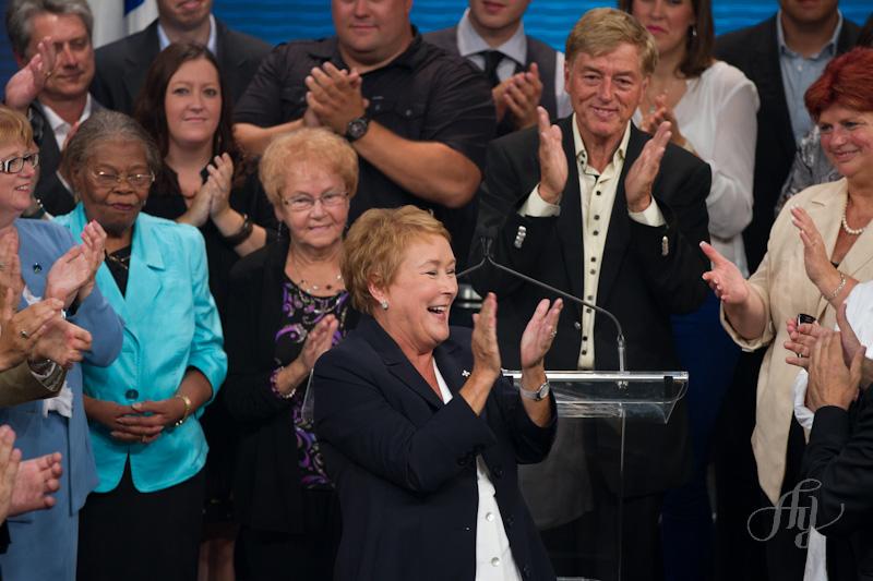 Pauline Marois :: Première ministre du Québec. Métropolis