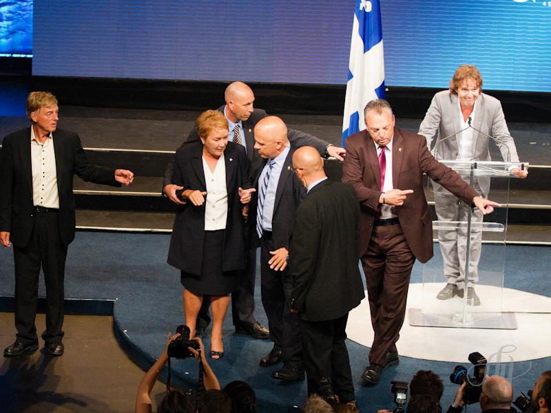 La première femme Première Ministre du Québec et un attentat mortel