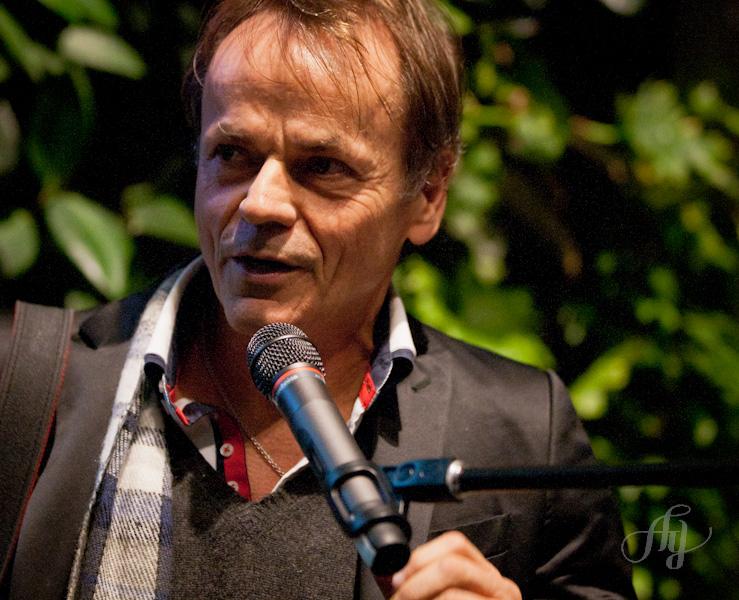 Jacques Nadeau lors de son discours le 4 décembre 2012 à la Maison du développement durable. Photo : Anne Gauthier