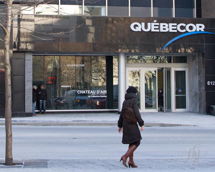 Stage à la Presse :: Québecor