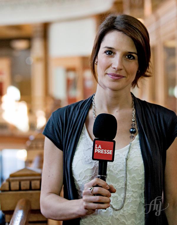 Stage à La Presse :: Portrait