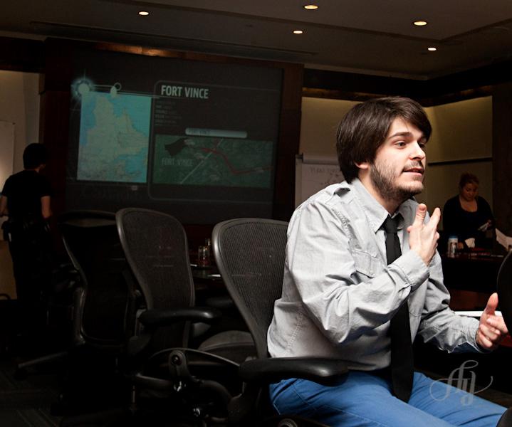 Stage à La Presse :: Photo de tournage de la série Les Jaunes.tv
