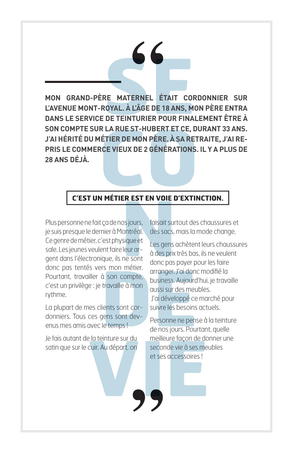 Reportage sur les métiers de la couture à Montréal :: Le fil d'Ariane # 5 :: Jean Sauriol, Les Teintures CY Sauriol