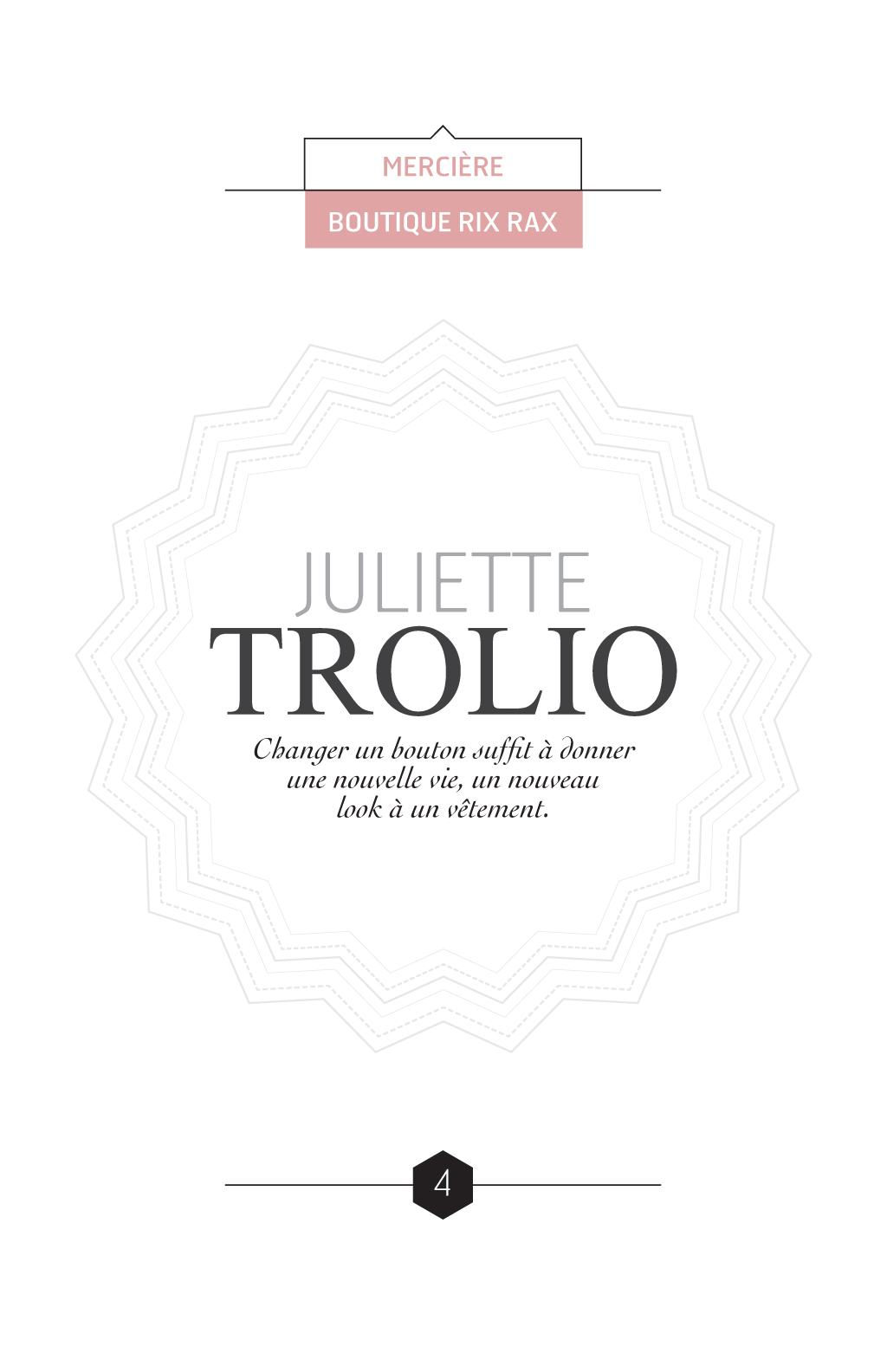 Reportage sur les métiers de la couture à Montréal :: Le fil d'Ariane # 3 :: Juliette Trolio, Boutique Rix Rax