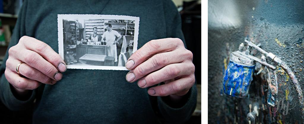 Reportage :: Le fil d'Ariane #5 avec le teinturier :: Jean Sauriol. PHOTOS : ANNE GAUTHIER