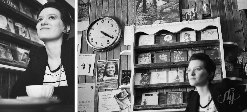 Série 1 :: Au Dépanneur Café :: Portraits réalisés en argentique :: PHOTOS Anne Gauthier
