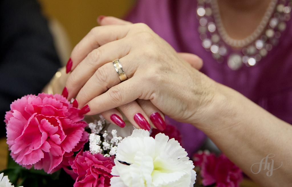Un mariage et un cancer. PHOTOS : Anne Gauthier