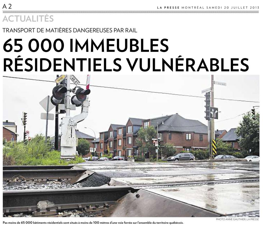 La Presse Actualités :: Après la tragédie du Lac Mégantic - Photo Anne Gauthier