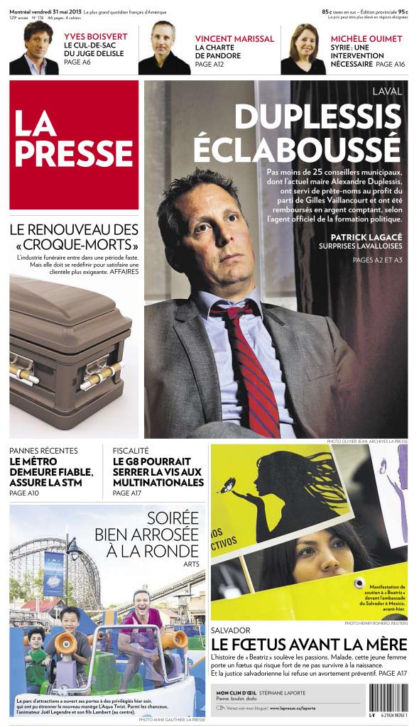 La Presse :: À La Ronde, Une soirée bien arrosée : Photo Anne Gauthier